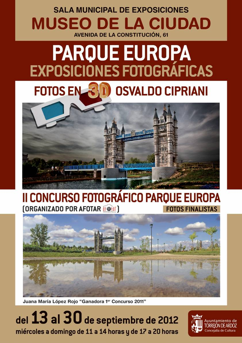 Exposición finalistas 2º Concurso Parque Europ